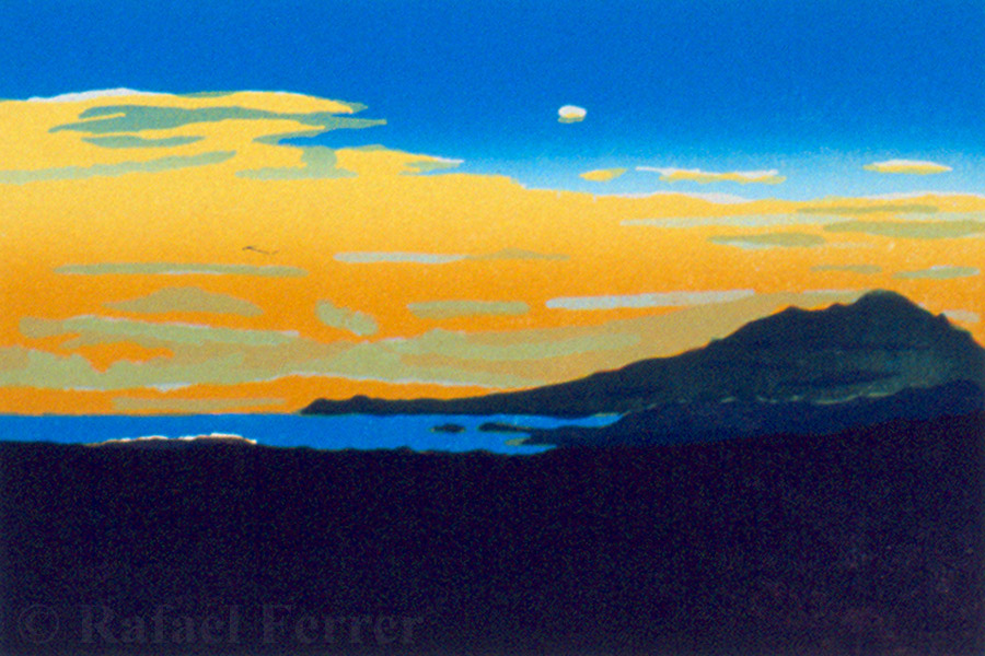 Rafael Ferrer - 'Amanecer Sobre el Cabo (Dawn Over the Cape)'