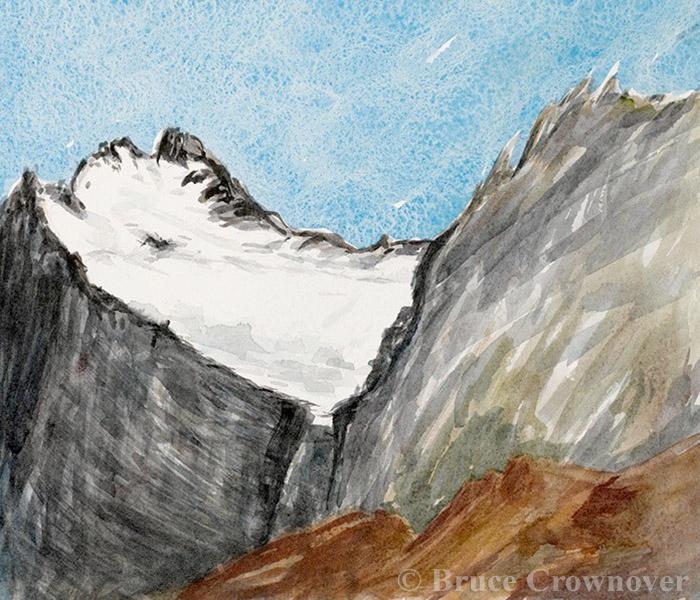 Bruce Crownover - 'Old Sun, Glacier National Park'