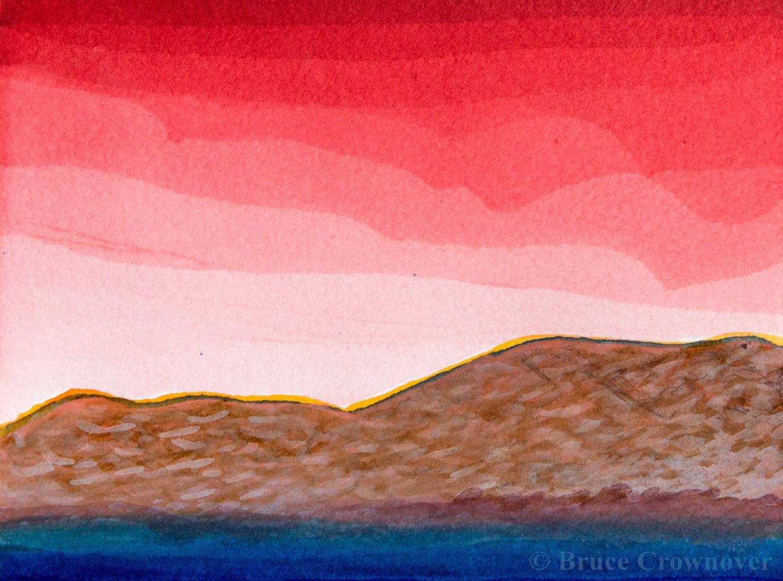 Bruce Crownover - 'Postcard 013'