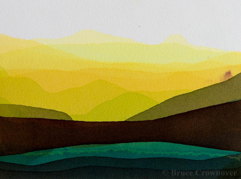 Bruce Crownover - 'Postcard 017'