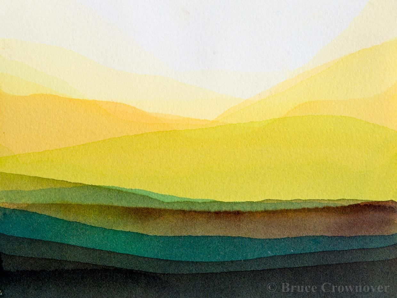 Bruce Crownover - 'Postcard 019'
