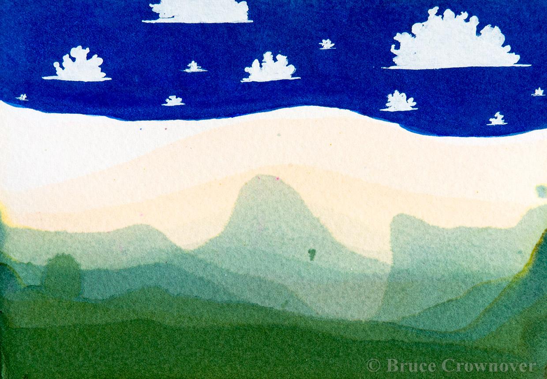 Bruce Crownover - 'Postcard 026'