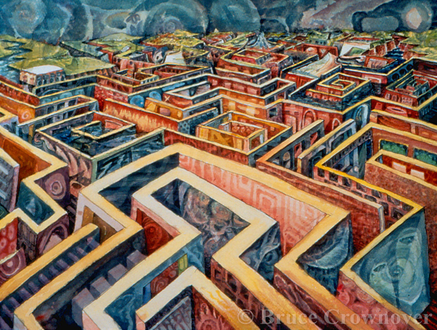 Bruce Crownover - 'Untitled (maze)'