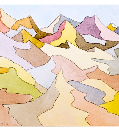 """Bruce Crownover - Desert 1 - 10"""" x 12"""""""