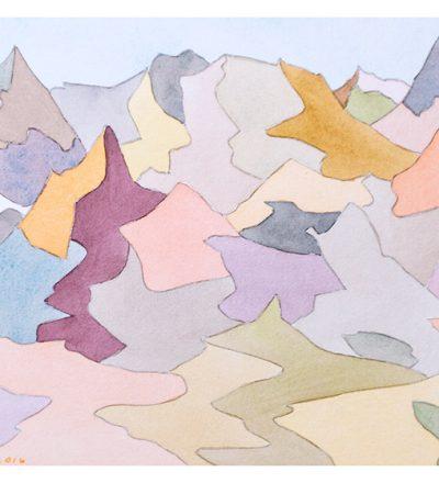 """Bruce Crownover - Desert 4 - 10"""" x 12"""""""