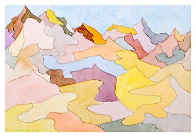 """Bruce Crownover - Desert 6 - 10"""" x 12"""""""