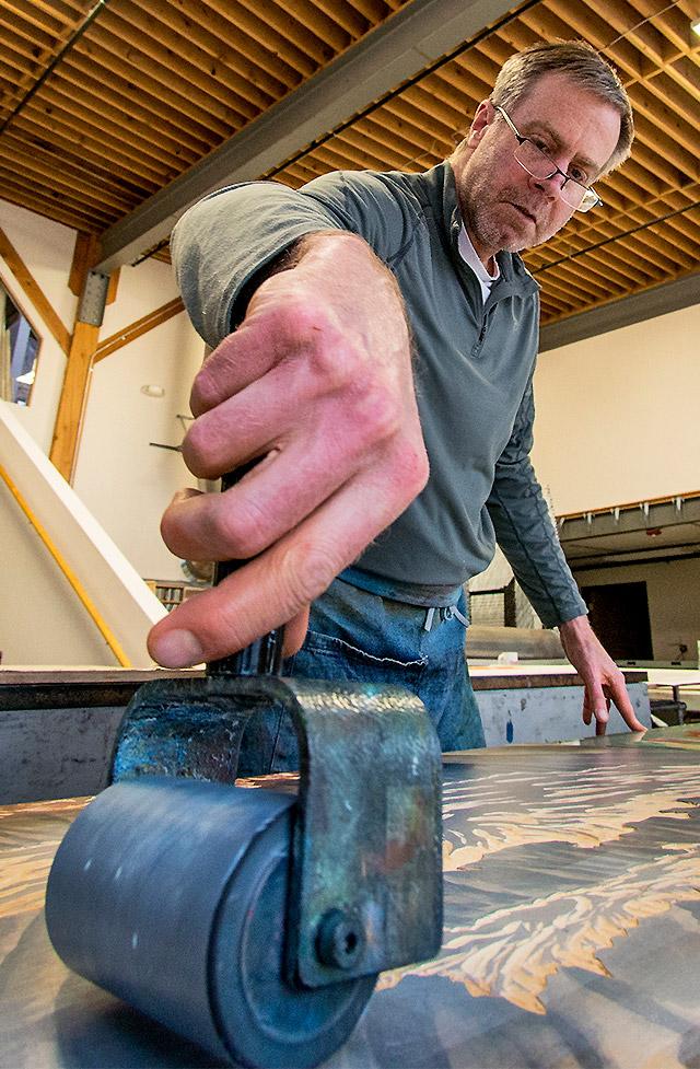 Bruce Crownover - Artist and Master Printmaker
