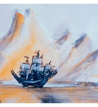Bruce Crownover - 'Postcard 001 - Shackleton'