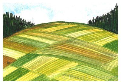 Bruce Crownover - 'Postcard 039'