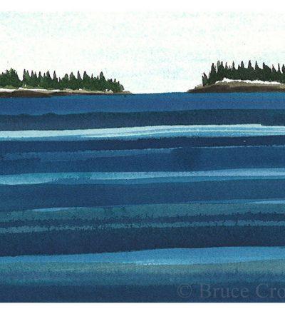 Bruce Crownover - 'Postcard 043'