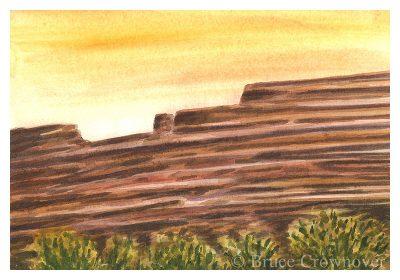 Bruce Crownover - 'Postcard 051'