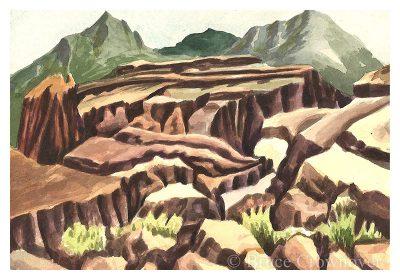 Bruce Crownover - 'Postcard 052'