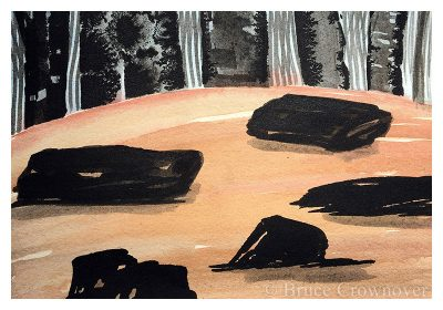 Bruce Crownover - 'Postcard 056'
