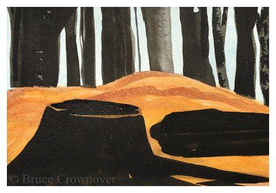 Bruce Crownover - 'Postcard 057'