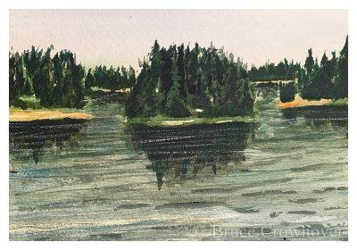 Bruce Crownover - 'Postcard 066'