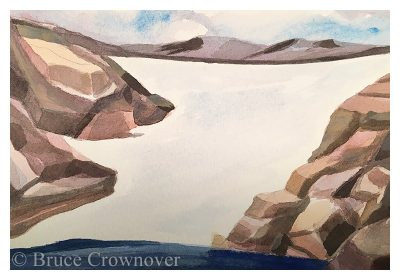 Bruce Crownover - 'Postcard 071: ROMO Tyndall Glacier'