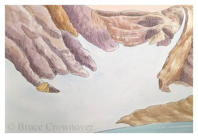 Bruce Crownover - 'Rocky Mountain Watercolor'