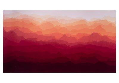 Bruce Crownover - 'Horizons' Dip die painting