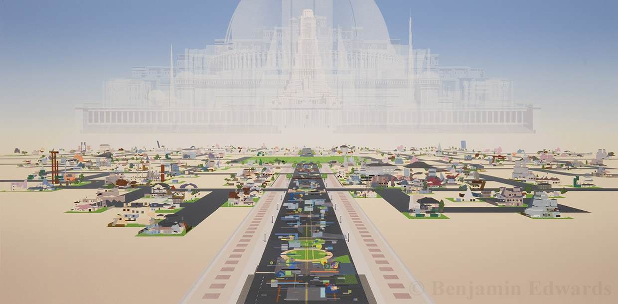 Benjamin Edwards - 'Automatic City'