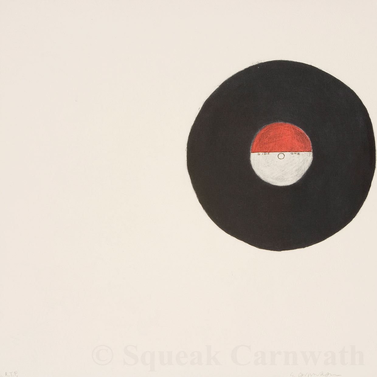 Squeak Carnwath - 'One Side'
