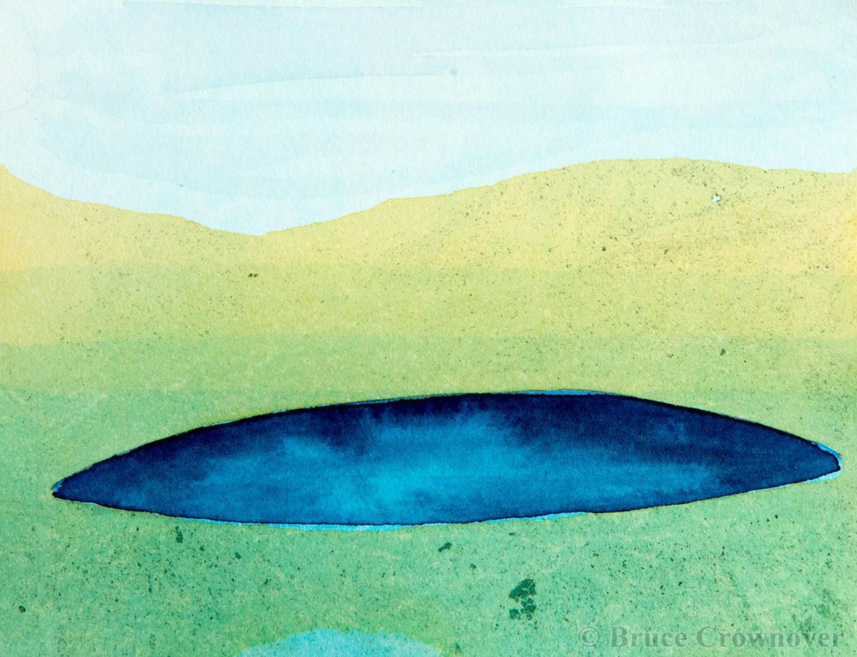 Bruce Crownover - 'Postcard 024'