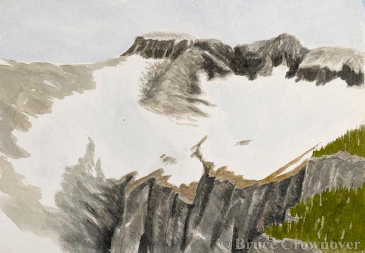 Bruce Crownover - 'Swiftcurrent II, Glacier National Park'