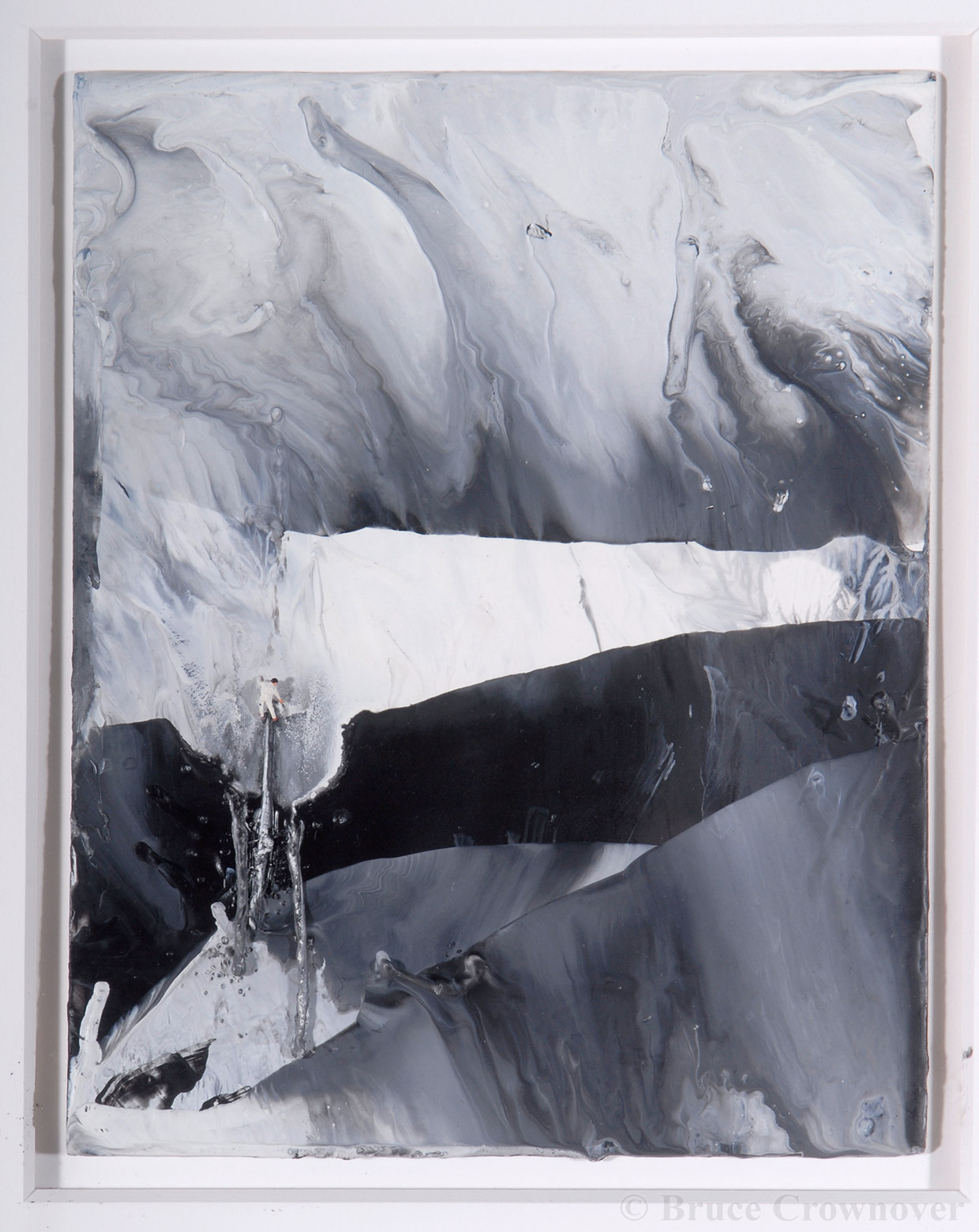 Bruce Crownover - 'Untitled (Drip Painter #2)'
