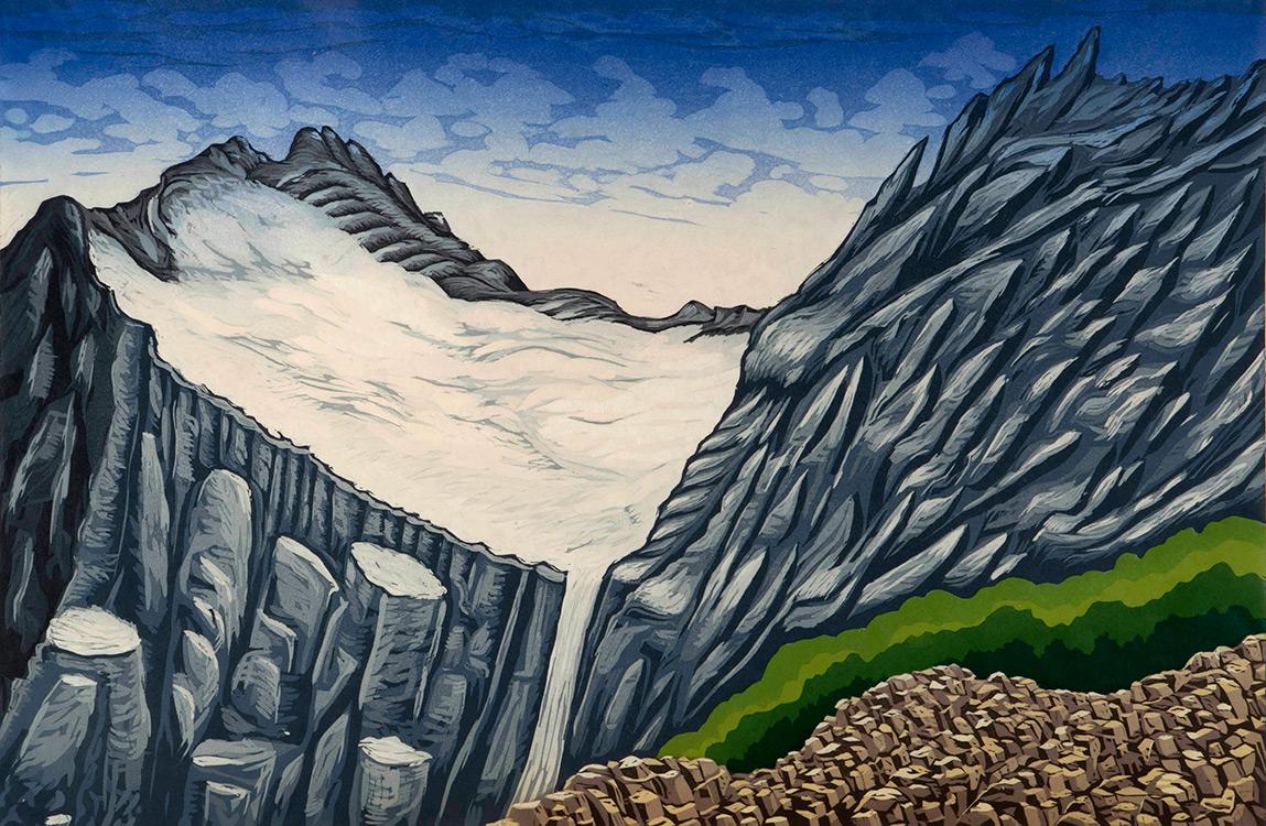 Bruce Crownover - 'Old Sun Glacier'