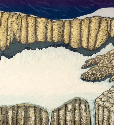 Bruce Crownover - 'Piegan Glacier'