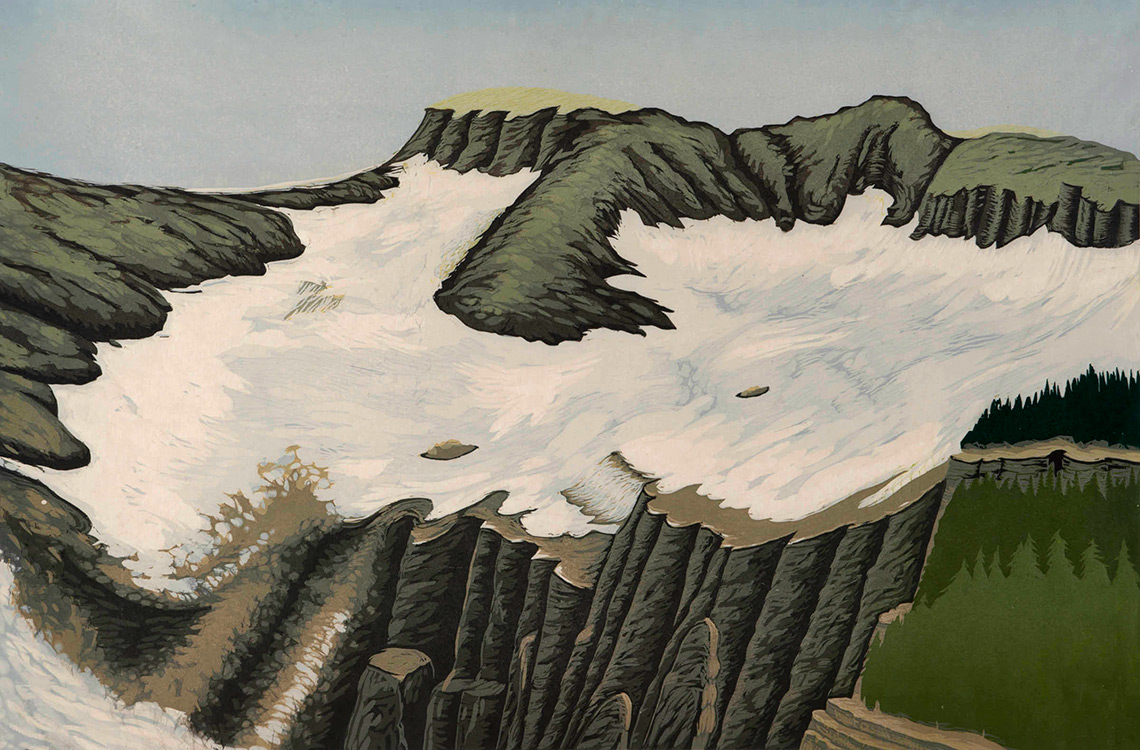 Bruce Crownover - 'Swift Current Glacier'