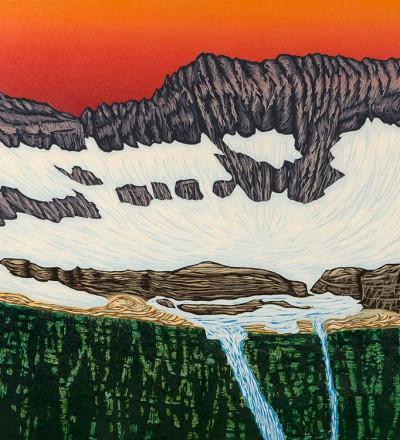 Bruce Crownover - 'Thunderbird Glacier'