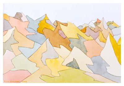 """Bruce Crownover - Desert 3 - 10"""" x 12"""""""