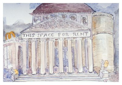 Bruce Crownover - Postcard 002 - 'Rome'