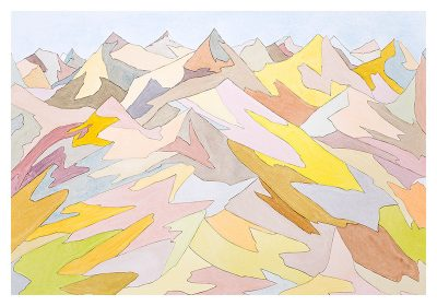 Bruce Crownover - 'Painted Desert #1'