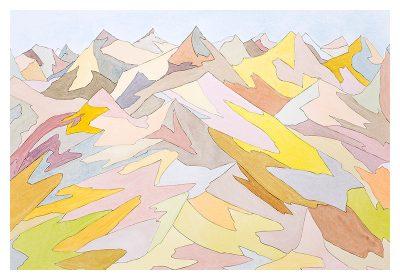 Bruce Crownover - 'Painted Desert #1'