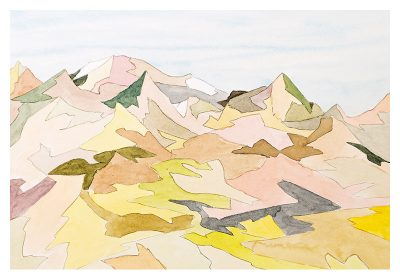 Bruce Crownover - 'Painted Desert #5'