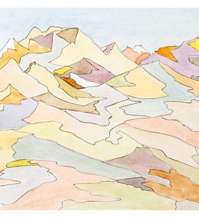Bruce Crownover - 'Painted Desert #7'