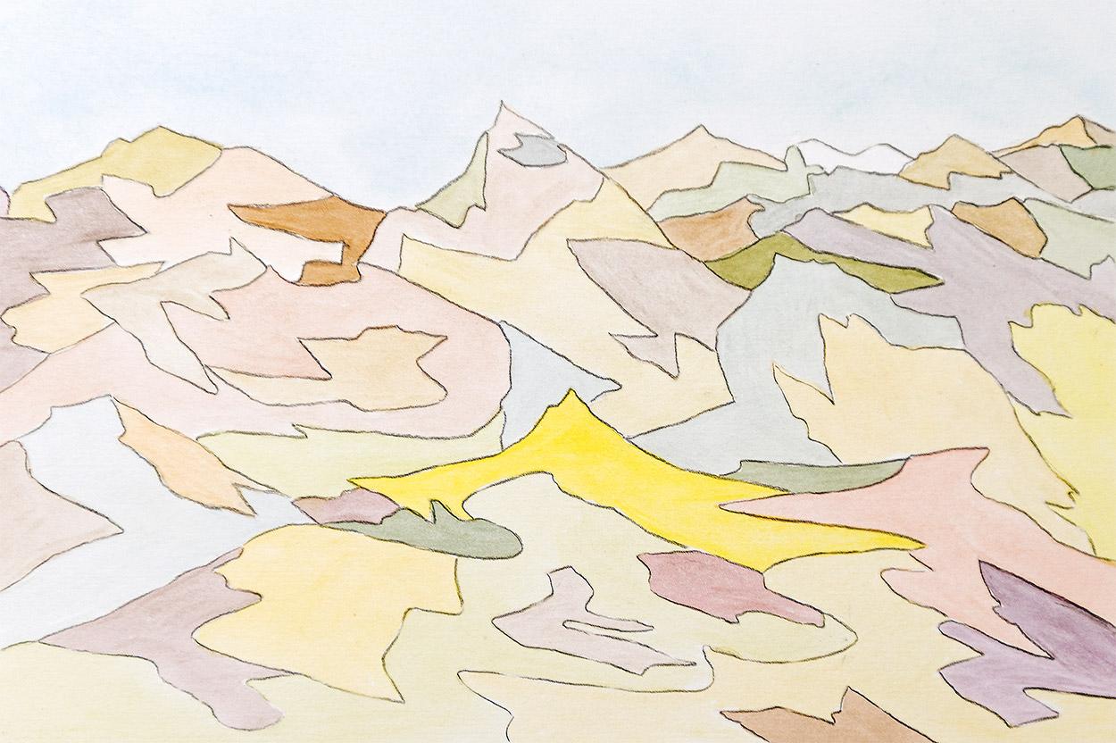 Bruce Crownover - 'Painted Desert #8'