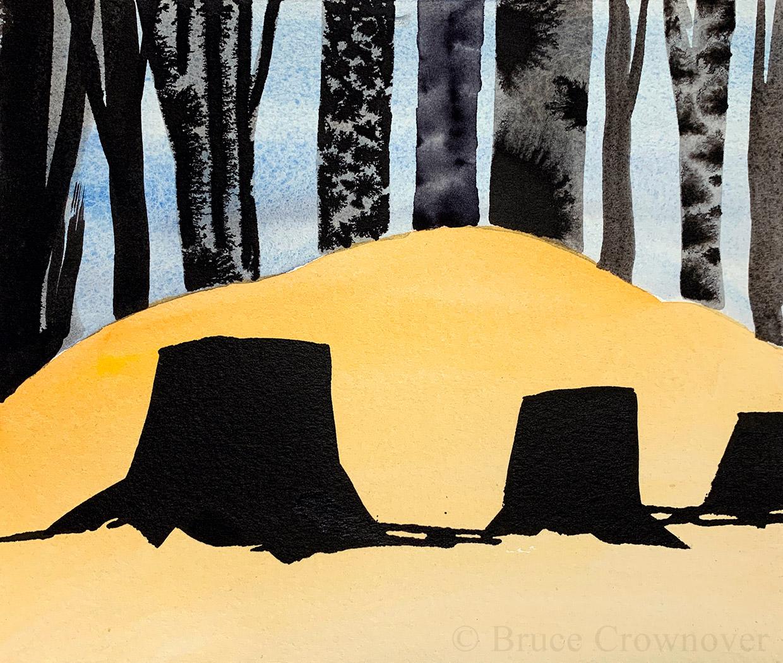 Bruce Crownover - Postcard 059