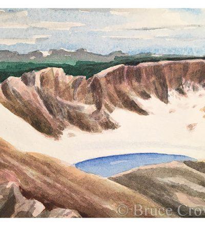Bruce Crownover - 'Postcard 070: ROMO Rowe Glacier'