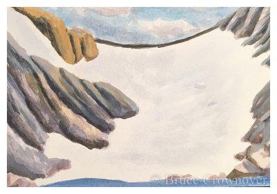 'Postcard 072: Untitled Glacier Study'
