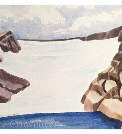 Bruce Crownover - 'Andrews Glacier Study'