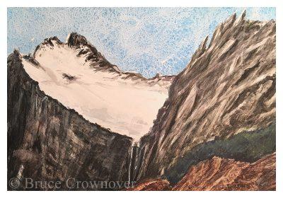 Bruce Crownover - 'Old Sun Glacier Study'