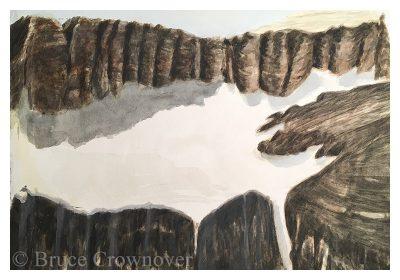 Bruce Crownover - 'Piegan Glacier Study'