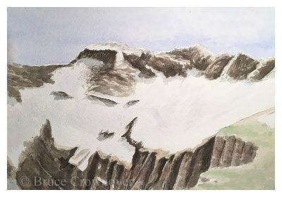 Bruce Crownover - 'Swift Current Glacier Study'